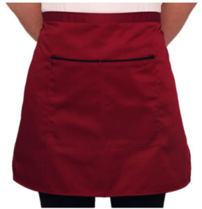 Half aprons with pocket design pattern