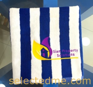 Pool Towels and Beach Towels wholesale cheaper price with Embroidery in Dubai UAE. Bulk Stripes Towels