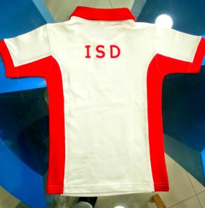 School Polo T-shirts with backside design image